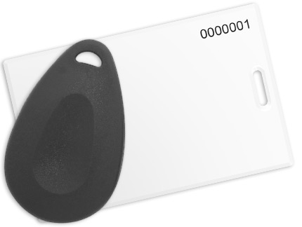 Smart card and key fob