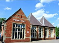 village hall reduces heating bills